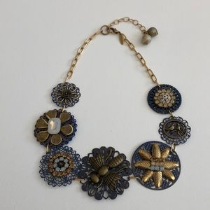 Anthropologie Lenora Dane Necklace